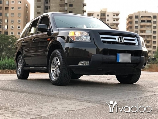 Honda in Tripoli - هوندا بايلوت موديل ٢٠٠٨ شركه لبنانيه ( سبع مقاعد )