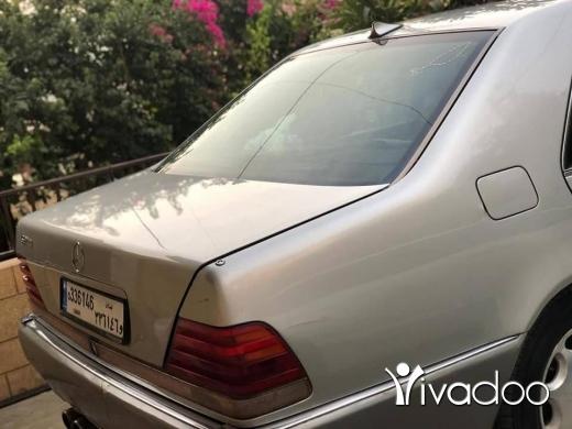 Mercedes-Benz in Port of Beirut - S320 full option model 94