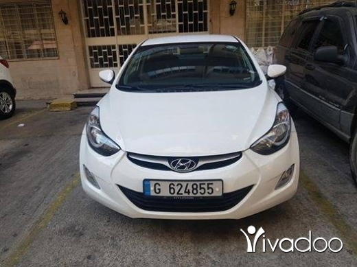 Hyundai in Beirut City - hyundai elantra 2014 full options
