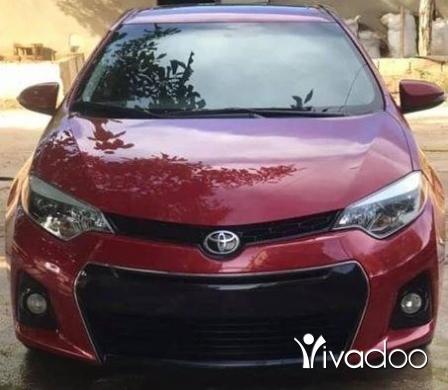 Toyota in Beirut City - Corrolla S Type mod 2014 agnabeye.61000klm.امكانية الفحص بالكامل.٧٠٤٥٥٤١٤