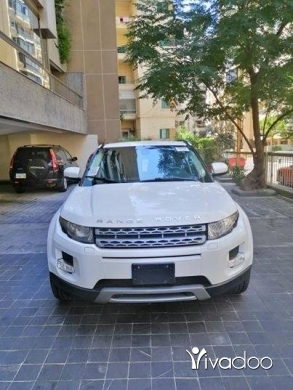 Rover in Beirut City - EVOQUE 2012 WIHTE AND BLACK CLEAN CAR FAX 1 OWNER