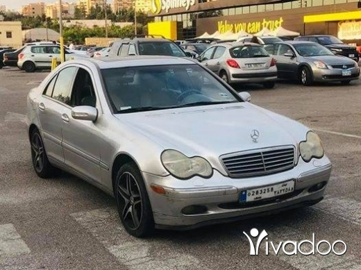 Mercedes-Benz in Beirut City - mercedes c320 2001 full options for inf: 71010821