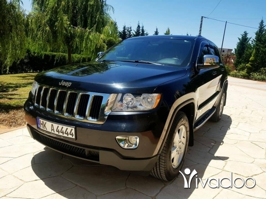 Jeep in Beirut City - grand sheroki 4×4 2012