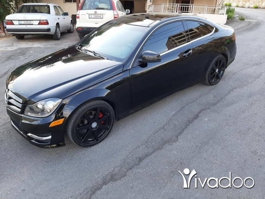 Mercedes-Benz in Beirut City - Mercedes coupe c250 look amg 2012