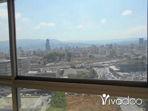 Apartments in Achrafieh - A 200 m2 apartment having an open mountain view for rent in Achrafieh