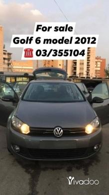 Volkswagen in Metn - For sale golf 1.6 model 2012