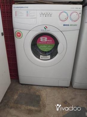 Washing Machines in Berj Hammoud - غسالة كامبو ماتيك ايطالية 8 كيلو