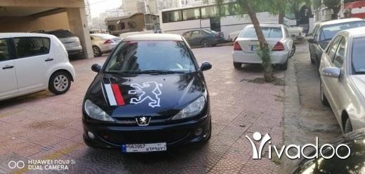 Peugeot in Port of Beirut - بيجو 206 R C. موديل 2005