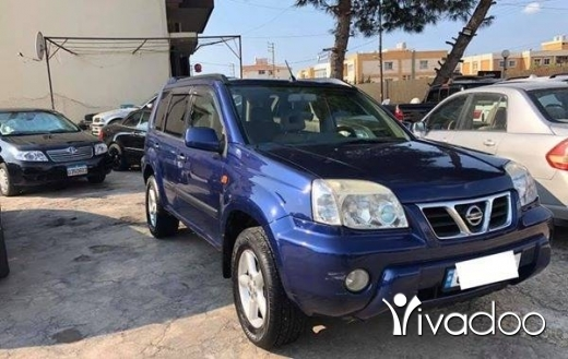 Nissan in Tripoli - Nissan xtrail 4 cylindre model 2002