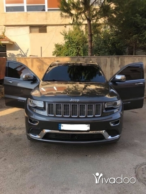 Jeep in Beirut City - GRAND CHEROKEE SUMMIT 2014 V6
