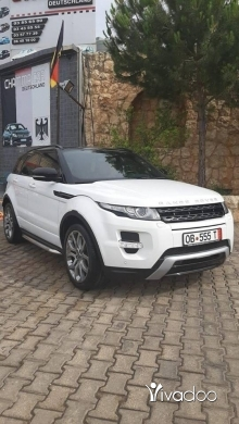 Rover in Tripoli - رنج روفر ايفوك