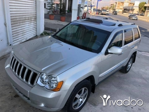 Jeep in Beirut City - Grand cherokee 2010