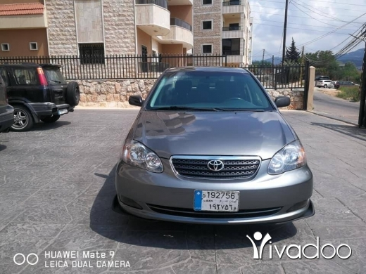 Toyota in Beirut City - Toyota Corolla S 2006 in excellent condition