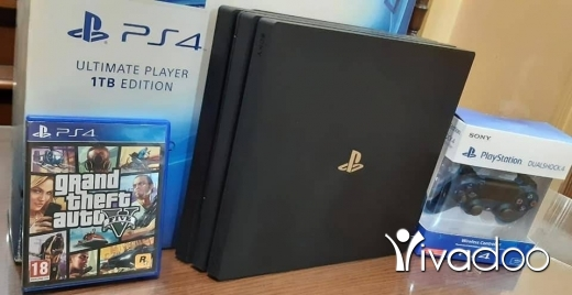Games in Tripoli - Playstation 4 pro 1TB 4K