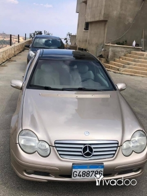 Mercedes-Benz in Beirut City - C230 coupe