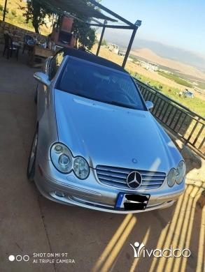 Mercedes-Benz in Beirut City - Clk 320 2004 convertible