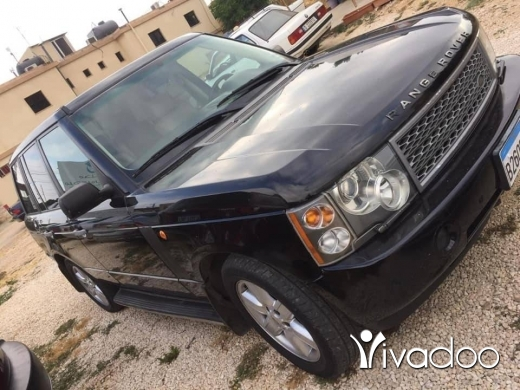 Land Rover in Beirut City - Range Rover 2003