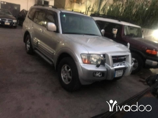 Mitsubishi in Tripoli - جيب بجارو. موديل. ٢٠٠٢ مفول