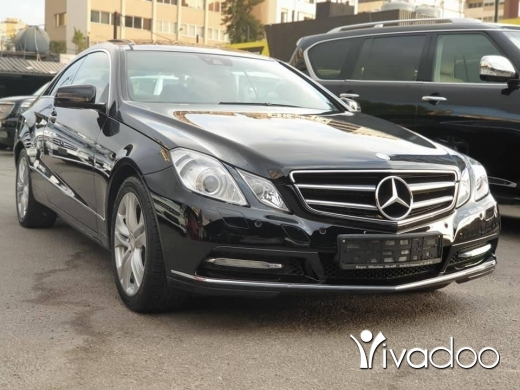 Mercedes-Benz in Port of Beirut - 2012 E250 coup