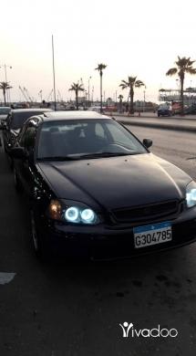 Honda in Port of Beirut - Honda civic coupe model 97