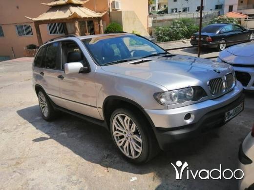 BMW in Deir Ammar - رنج x5 مودال 2001 انقاد مفول سبور بكج 6سلندر جنط 20 للبيع