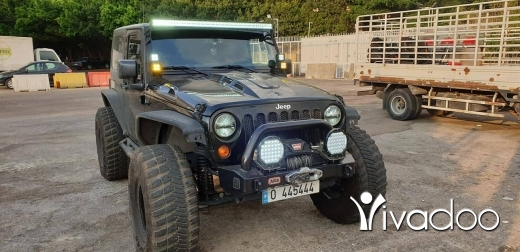 Jeep in Beirut City - Wrangler sport 2014 off road