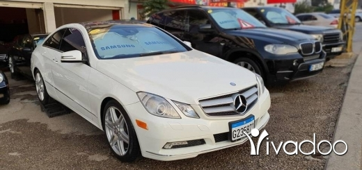 Mercedes-Benz in Port of Beirut - Mercedes E350 Coupé