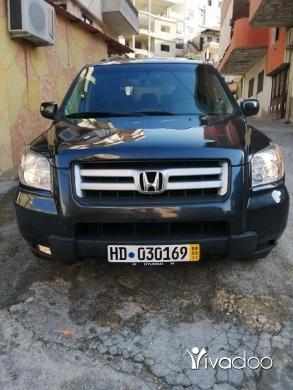 Honda in Deir Ammar - هونداة بيلوت مودال 2006 انقاد مفول شاشي كمرة