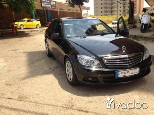 Mercedes-Benz in Beirut City - c180 2010 germany
