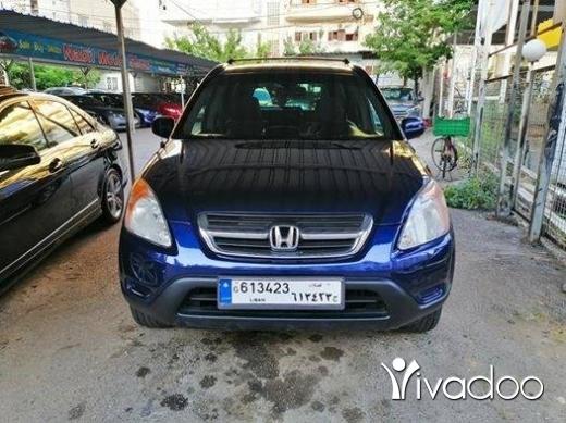 Honda in Beirut City - 2004 Honda CRV EX 4WD