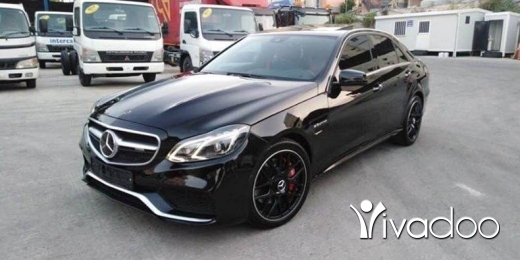 Mercedes-Benz in Nabatyeh - E 550 2010 look 2015 e63