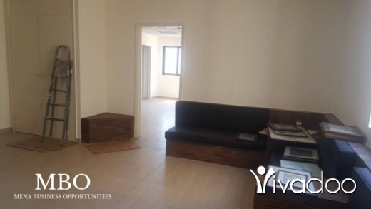 Desk Space in Ramlet al-Baydah - Office For Rent In Ramlet El Bayda Beirut Lebanon