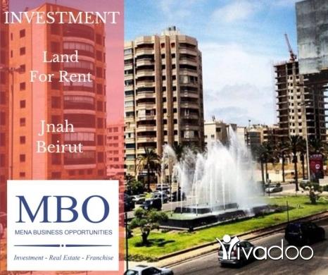 Land in Jnah - Land For Rent In Jnah Beirut Lebanon