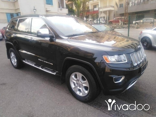 Jeep in Beirut City - Grand Cherokee 2014 full V6