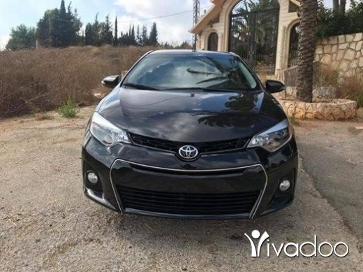 Toyota in Beirut City - Toyota corolla S 2015 black