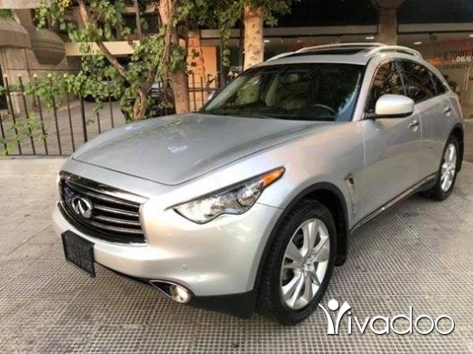 Infiniti in Tripoli - 2012 fx35 silver/black 5 camera 4WD parking sensors bi xenon not registered