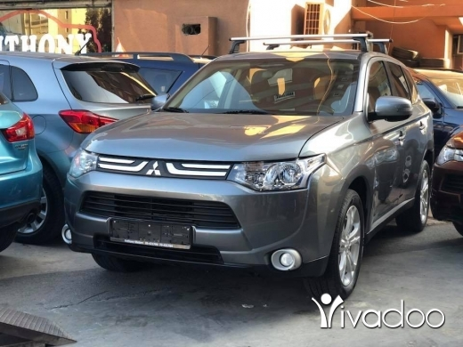 Mitsubishi in Port of Beirut - Mitsubishi Outlander Gray 2014