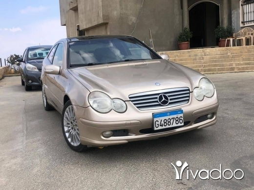 Mercedes-Benz in Beirut City - Mercedes c230 coupe