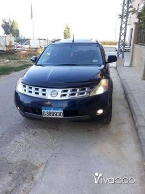 Nissan in Zahleh - Nissan mourano 2003 كتير نضيف مفول