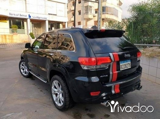 Jeep in Beirut City - Grand Cherokee 2014 limited V6 Look SRT