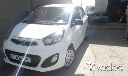 Kia in Zahleh - Kia bikanto model 2014