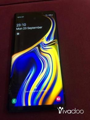 Samsung in Tripoli - Note 9