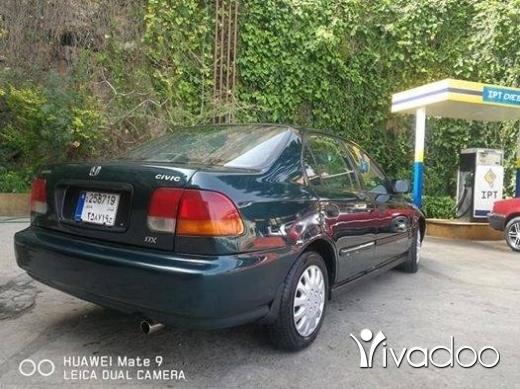 Honda in Dbayeh - هوندا سيفيك ١٩٩٨ بحالة جيدة جداً