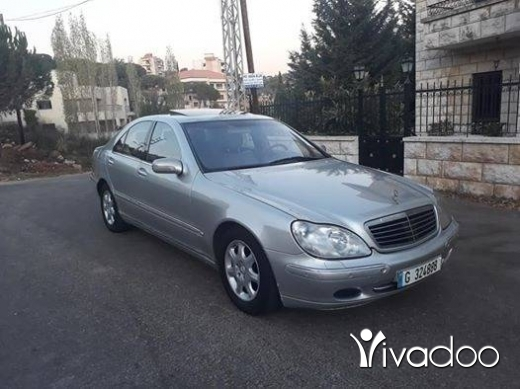 Mercedes-Benz in Baabda - Mercedes S320 model 2000 super clean