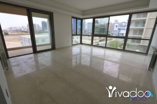 Apartments in Dbayeh - A 150 m2 apartment having a partial sea view for rent in Dbaye - Waterfront