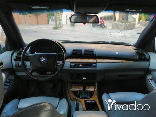BMW in Deir Ammar - رنج x5 2001 انقاد مفول جتط 20 سبور بكج للبيغ