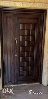 آخر في عاليه - Iron entrance doors full safty with powder coating paint