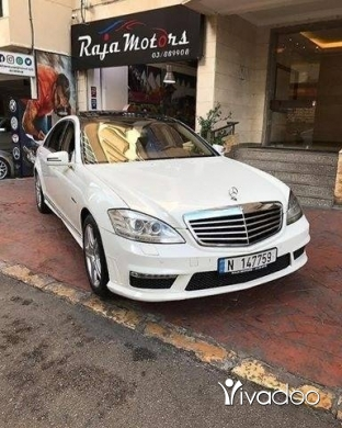 Mercedes-Benz in Beirut City - Mercedes-Benz S550L 2008