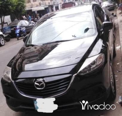 Mazda in Tripoli - رانج مازدا اسود