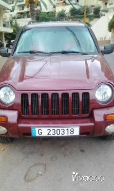 Jeep in Beirut City - Jeep liberty